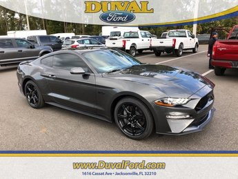 2019 Magnetic Metallic Ford Mustang GT 5.0L V8 Ti-VCT Engine 2 Door Coupe RWD