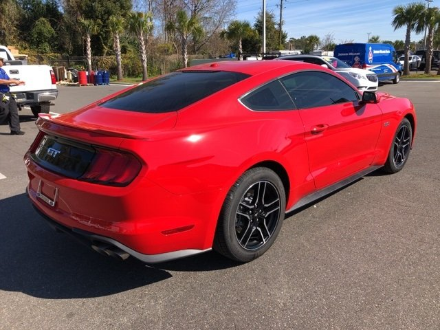 2019 Race Red Ford Mustang GT 2 Door Manual RWD Coupe 5.0L V8 Ti-VCT Engine