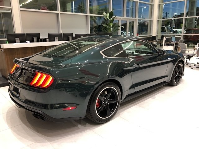 2019 Ford Mustang Bullitt RWD 5.0L V8 Ti-VCT Engine 2 Door Manual