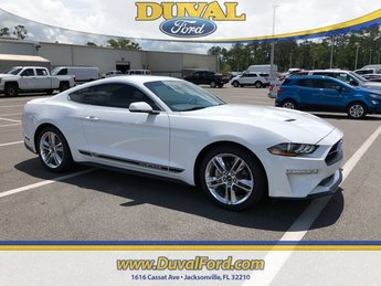 2018 Ford Mustang EcoBoost Premium Coupe 2 Door EcoBoost 2.3L I4 GTDi DOHC Turbocharged VCT Engine RWD Automatic