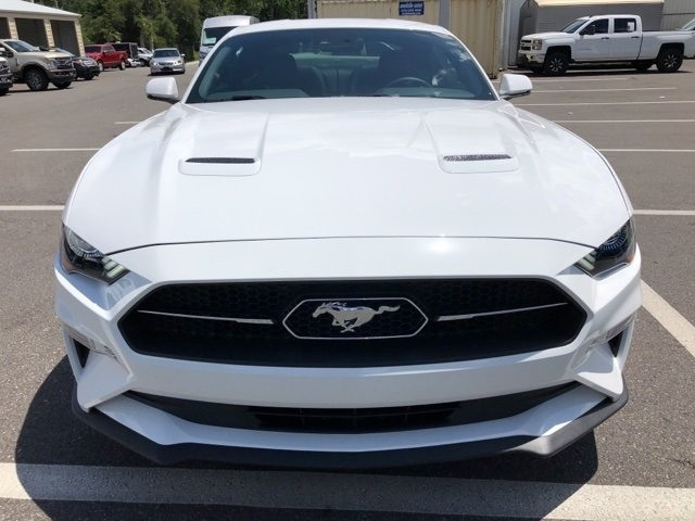 2018 Ford Mustang EcoBoost Premium EcoBoost 2.3L I4 GTDi DOHC Turbocharged VCT Engine RWD Coupe 2 Door