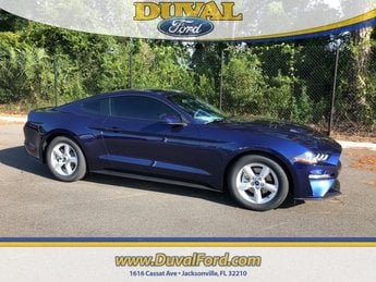 2019 Kona Blue Metallic Ford Mustang EcoBoost Automatic RWD 2 Door Coupe EcoBoost 2.3L I4 GTDi DOHC Turbocharged VCT Engine
