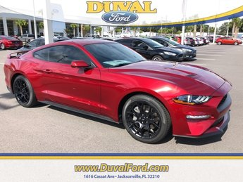 2019 Ruby Red Metallic Tinted Clearcoat Ford Mustang EcoBoost 2 Door EcoBoost 2.3L I4 GTDi DOHC Turbocharged VCT Engine Automatic