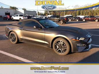2019 Magnetic Metallic Ford Mustang EcoBoost 2 Door Coupe RWD EcoBoost 2.3L I4 GTDi DOHC Turbocharged VCT Engine Automatic