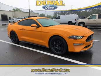 2018 Ford Mustang EcoBoost 2.3L I4 GTDi DOHC Turbocharged VCT Engine Manual 2 Door RWD Coupe