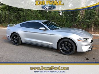 2019 Ford Mustang EcoBoost Automatic RWD 2 Door EcoBoost 2.3L I4 GTDi DOHC Turbocharged VCT Engine Coupe