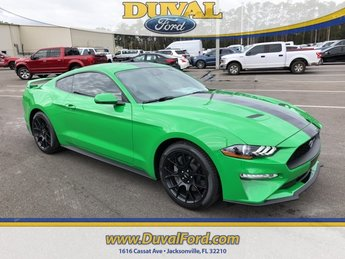 2019 Ford Mustang EcoBoost Premium Coupe 2 Door EcoBoost 2.3L I4 GTDi DOHC Turbocharged VCT Engine
