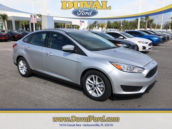 2018 Ingot Silver Metallic Ford Focus SE FWD I4 Engine Automatic Sedan