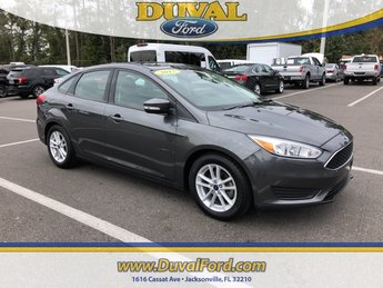2017 Magnetic Ford Focus SE Manual FWD EcoBoost 1.0L I3 GTDi DOHC Turbocharged VCT Engine