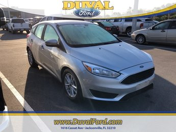 2017 Ford Focus SE Hatchback Automatic 4 Door