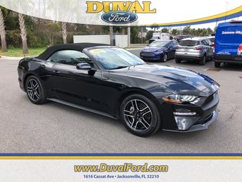 2018 Ford Mustang EcoBoost Premium 2 Door Manual RWD EcoBoost 2.3L I4 GTDi DOHC Turbocharged VCT Engine