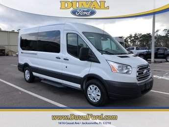 2019 Oxford White Ford Transit-350 RWD 3.7L V6 Ti-VCT 24V Engine Automatic
