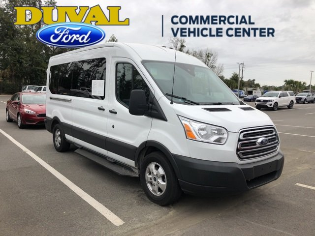 2018 Oxford White Ford Transit-350 XLT Crossover 3.7L V6 Ti-VCT 24V Engine Automatic RWD 3 Door