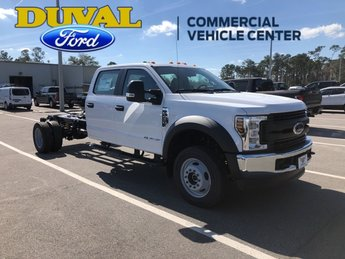 2019 Oxford White Ford Super Duty F-450 DRW XL Truck 4 Door 4X4