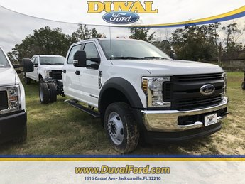 2019 Oxford White Ford Super Duty F-550 DRW XL Truck Automatic Power Stroke 6.7L V8 DI 32V OHV Turbodiesel Engine RWD