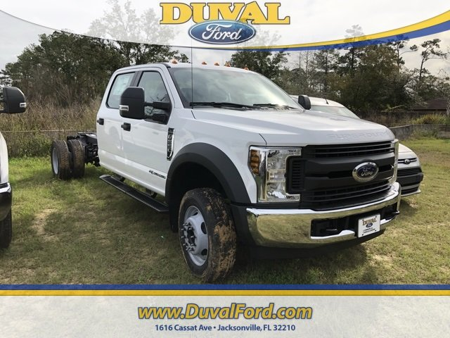 2019 Ford Super Duty F-550 DRW XL RWD 4 Door 6.7L V8 Engine Truck Automatic