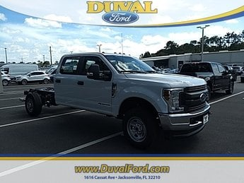 2019 Oxford White Ford Super Duty F-350 SRW XL Truck 4X4 Automatic