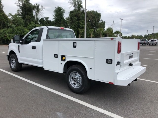 2019 Oxford White Ford Super Duty F-250 SRW XL Automatic 6.2L SOHC Engine RWD 2 Door