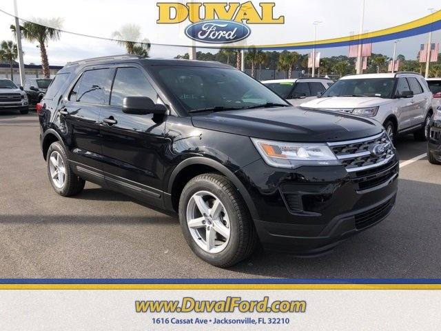 2019 Agate Black Metallic Ford Explorer Base SUV 2.3L I4 Engine Automatic FWD 4 Door