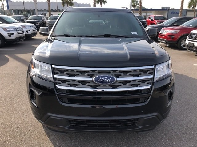 2019 Agate Black Metallic Ford Explorer Base SUV FWD Automatic