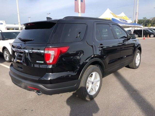 2019 Agate Black Metallic Ford Explorer Base 2.3L I4 Engine Automatic FWD