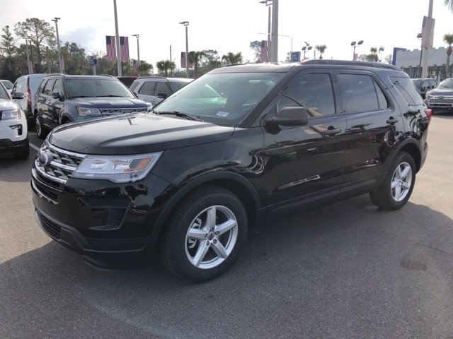 2019 Agate Black Metallic Ford Explorer Base FWD SUV Automatic 2.3L I4 Engine 4 Door