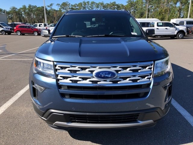 2019 Blue Metallic Ford Explorer XLT SUV 3.5L V6 Ti-VCT Engine Automatic