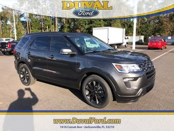 2019 Magnetic Metallic Ford Explorer XLT FWD 4 Door Automatic 3.5L V6 Ti-VCT Engine