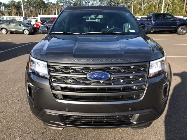 2019 Magnetic Metallic Ford Explorer XLT 4 Door Automatic 3.5L V6 Ti-VCT Engine FWD SUV