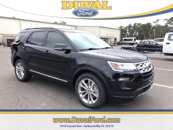 2019 Agate Black Metallic Ford Explorer XLT SUV 3.5L V6 Ti-VCT Engine Automatic 4 Door FWD