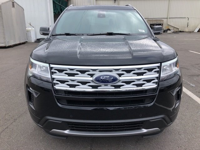 2019 Agate Black Metallic Ford Explorer XLT Automatic 3.5L V6 Ti-VCT Engine 4 Door FWD