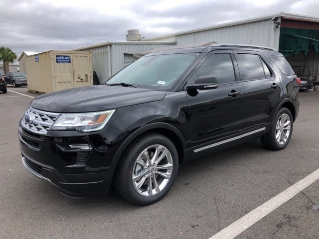 2019 Ford Explorer XLT SUV Automatic FWD 3.5L V6 Ti-VCT Engine