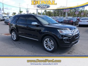 2019 Agate Black Metallic Ford Explorer XLT SUV FWD 4 Door 3.5L V6 Ti-VCT Engine Automatic