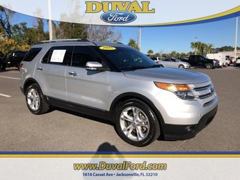 2015 Ford Explorer Limited SUV Automatic 4 Door FWD