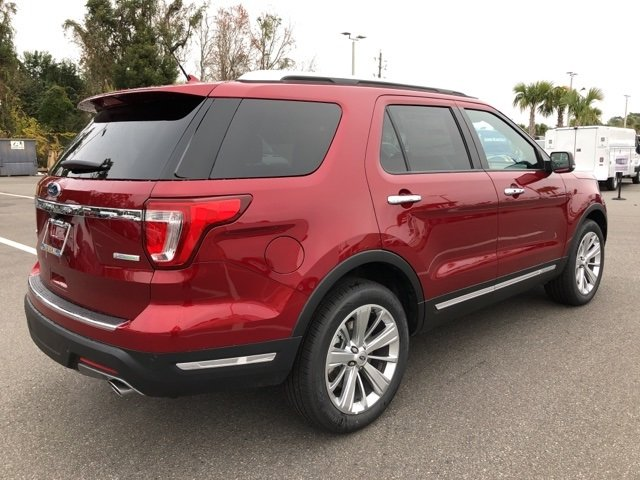 2019 Ford Explorer Limited 2.3L I4 Engine FWD Automatic