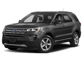 2019 Magnetic Metallic Ford Explorer Sport 4 Door SUV 3.5L Engine Automatic