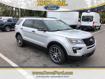 2019 Ford Explorer Sport SUV 4X4 4 Door Automatic
