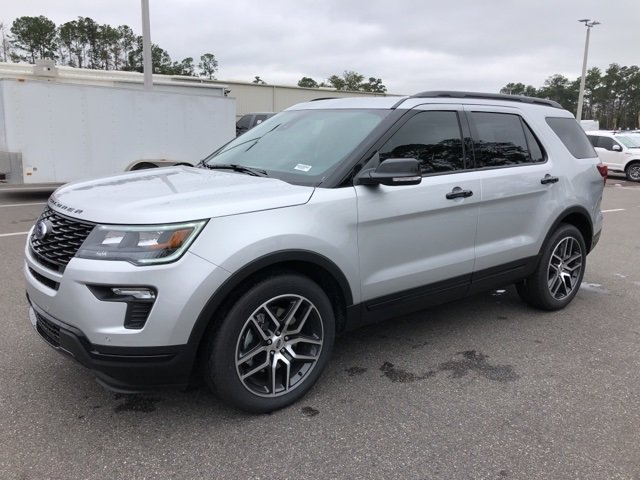 2019 Ford Explorer Sport SUV 3.5L Engine Automatic 4 Door