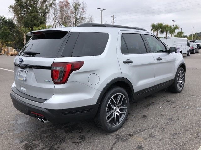 2019 Ford Explorer Sport 4X4 SUV 4 Door Automatic 3.5L Engine