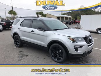 2019 Ingot Silver Metallic Ford Explorer Sport SUV Automatic 4X4 4 Door