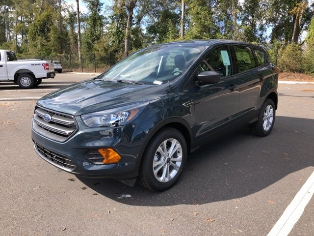 2019 Baltic Sea Green Metallic Ford Escape S 4 Door FWD Automatic