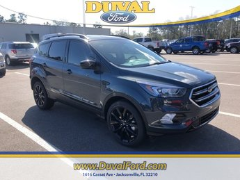 2019 Baltic Sea Green Metallic Ford Escape SE FWD 4 Door EcoBoost 1.5L I4 GTDi DOHC Turbocharged VCT Engine