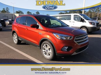 2019 Sedona Orange Metallic Ford Escape SE SUV 4 Door EcoBoost 1.5L I4 GTDi DOHC Turbocharged VCT Engine FWD