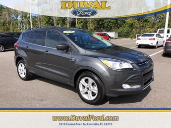 2016 Magnetic Ford Escape SE Automatic EcoBoost 1.6L I4 GTDi DOHC Turbocharged VCT Engine SUV 4 Door