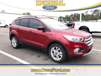 2019 Ruby Red Metallic Tinted Clearcoat Ford Escape SEL EcoBoost 1.5L I4 GTDi DOHC Turbocharged VCT Engine SUV 4 Door Automatic FWD