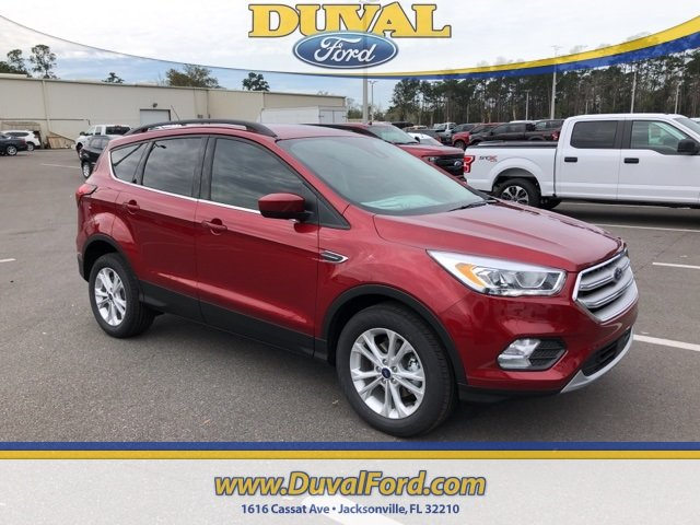 2019 Ruby Red Metallic Tinted Clearcoat Ford Escape SEL FWD SUV Automatic 4 Door