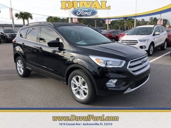 2019 Agate Black Metallic Ford Escape SEL SUV Automatic FWD