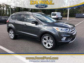 2019 Magnetic Metallic Ford Escape Titanium FWD 4 Door Automatic EcoBoost 2.0L I4 GTDi DOHC Turbocharged VCT Engine