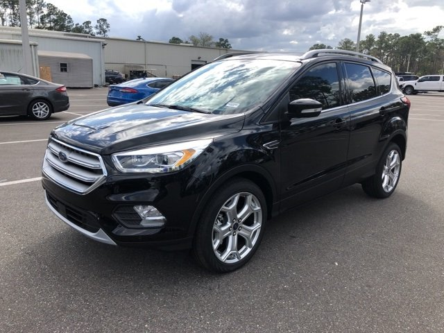 2019 Agate Black Metallic Ford Escape Titanium Automatic SUV EcoBoost 2.0L I4 GTDi DOHC Turbocharged VCT Engine