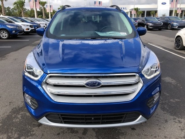 2019 Lightning Blue Metallic Ford Escape SEL SUV Automatic 4X4 4 Door